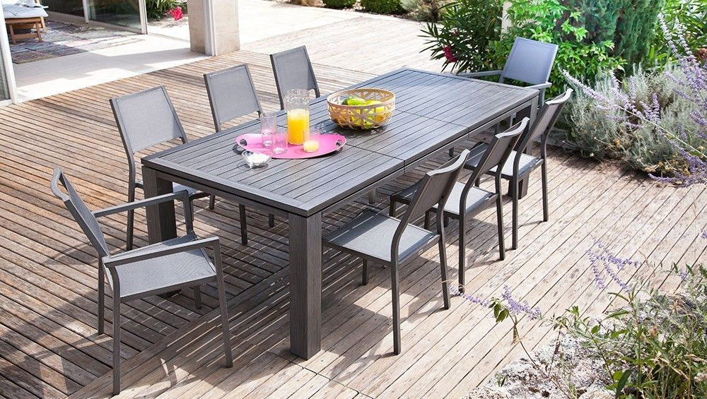Table de jardin FIERO 200/300 - Proloisirs