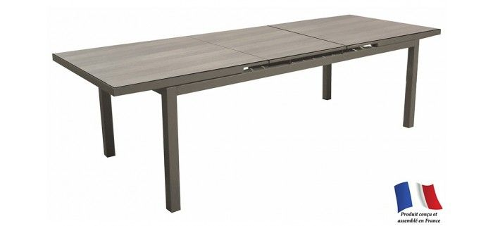 Table TERAMO 180/235 HPL plateau Trespa®