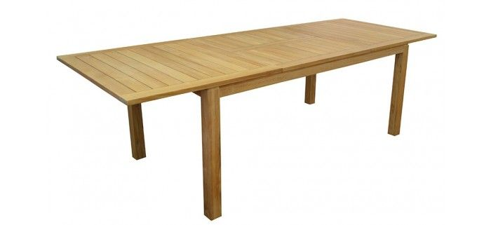 Table MADAGASCAR 180/260  TABLES DE JARDIN