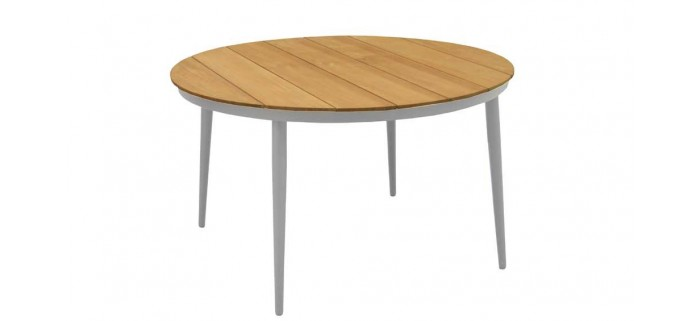 Table Neuvic 130 plateau Teck Océo - 1