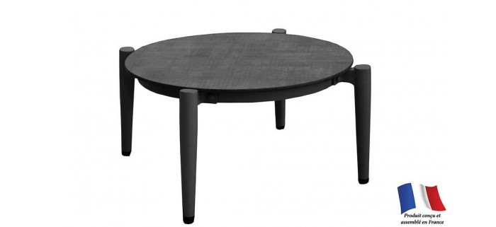 Table basse DUBLIN Ø 72 cm