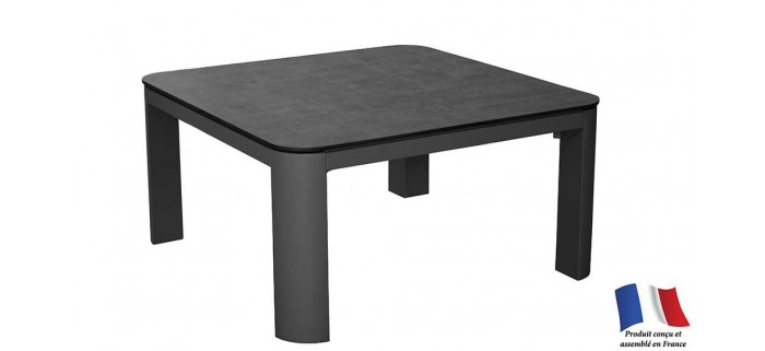 Table basse EOLE 60x60 plateau Trespa®