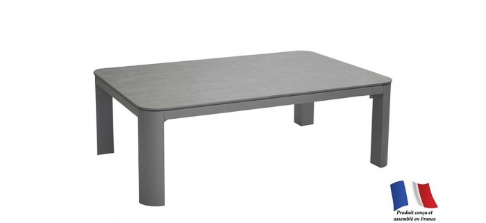 Table basse EOLE 80x60 plateau Trespa®