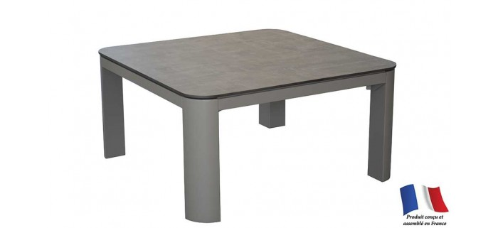 Table basse EOLE 80x80 plateau Trespa®