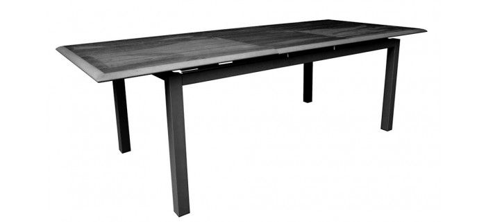 Table de jardin LOUISIANE 180/240 PS