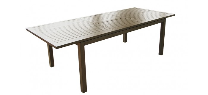 Table de jardin MILANO 180/240