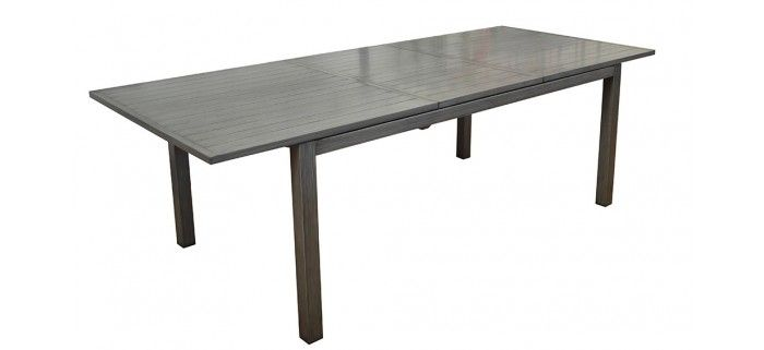Table de jardin TRIESTE 180/240 BRUSH