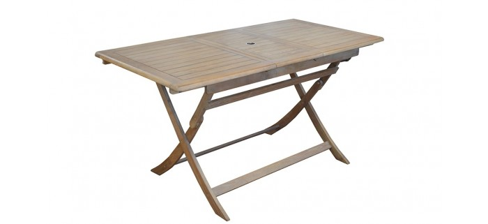 Table de jardin THERIA pliante