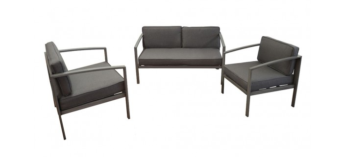 Set lounge TRIESTE / 3 PIECES